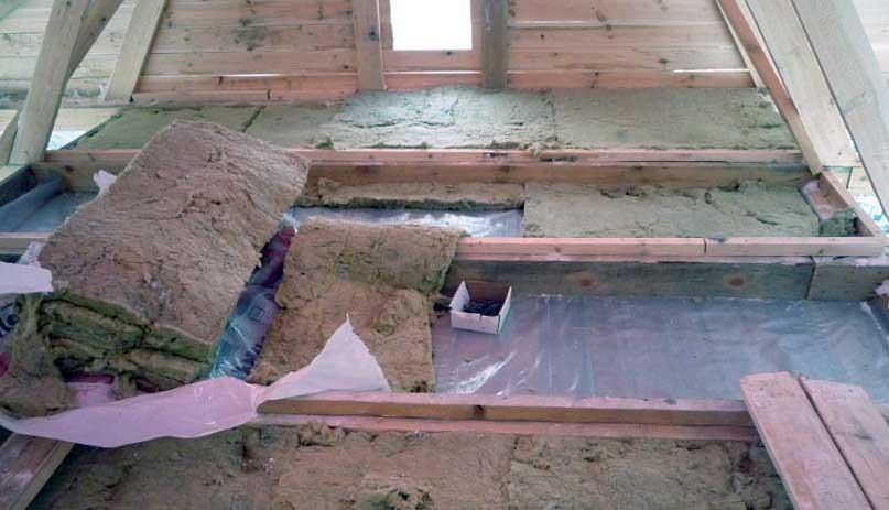 Утеплитель из глины и опилок своими силами