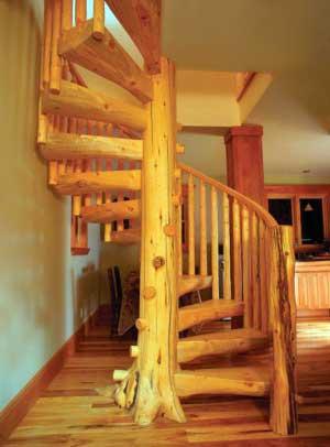 винтовая-дубовая-лестница