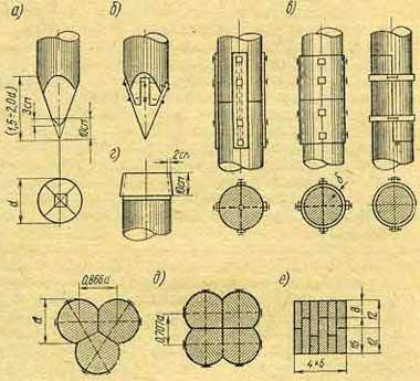 деревянные-сваи-фундамента