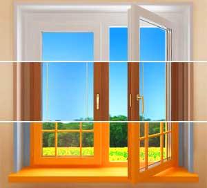 как-правильно-покрасить-окно-в-каркасном-доме