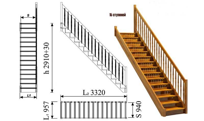 прямая-маршевая-лестница
