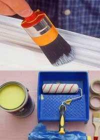 инструмент-для-покраски-окон-в-доме