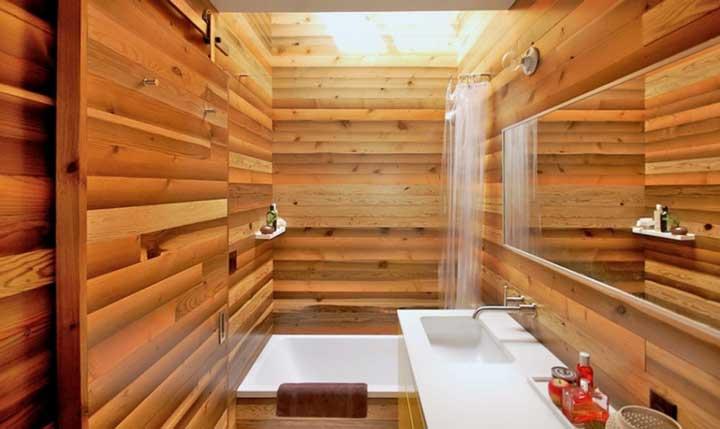 отделка-ванной-деревом