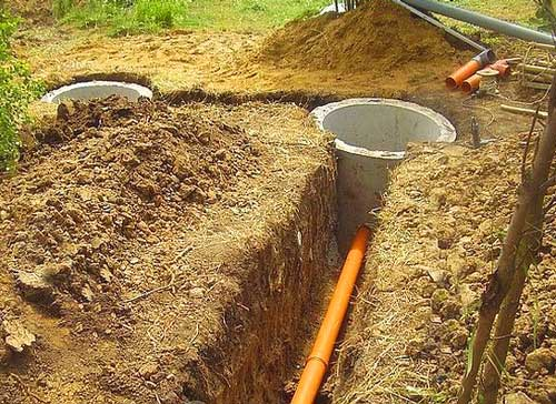 Проводка канализации в частном доме своими руками видео
