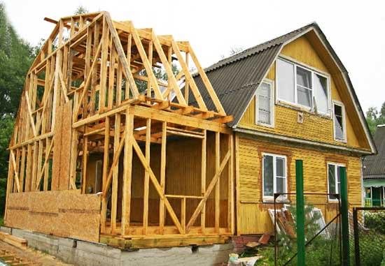 каркасная-пристройка-к-деревянному-дому-своими-руками
