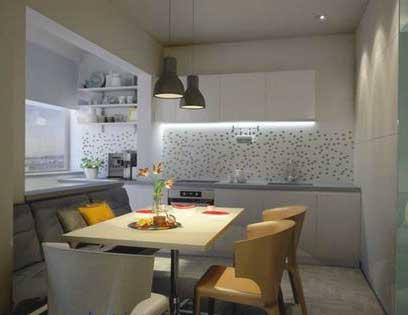 освещение-кухни-в-доме