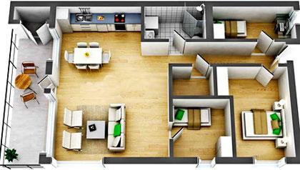 планировка-каркасного-дома