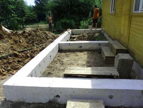 фундамент-для-пристройке-дома