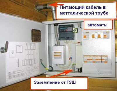 электропитание-вводный-автомат