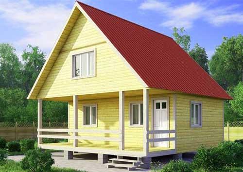 преимущества_двускатной_крыши_дома