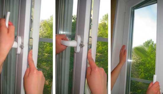 Заклинило пластиковое окно