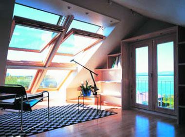 Квадратные мансардные окна