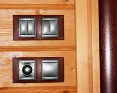 Монтаж скрытой проводки в доме
