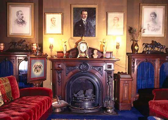 Украшение интерьера викторианского стиля