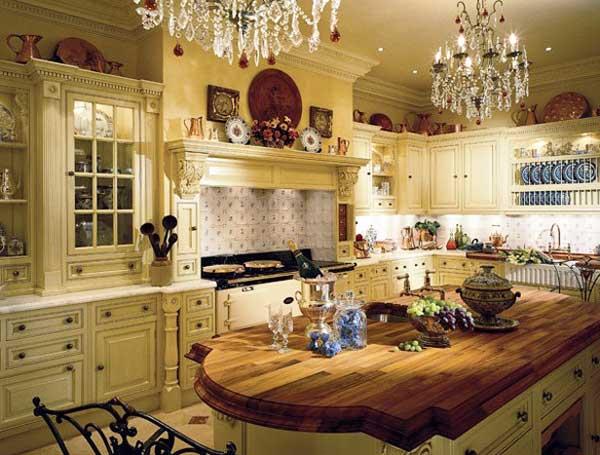 Шикарная кухня в английском стиле