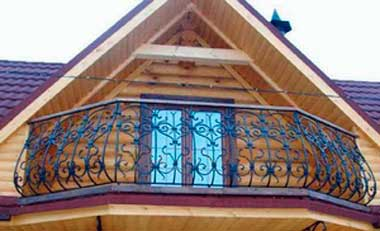 Балкон в каркасном доме