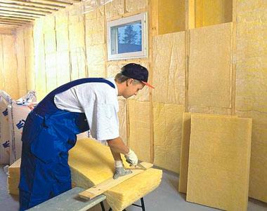 Внутренняя теплоизоляция стен в доме