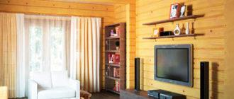 Дизайн гостинной в доме