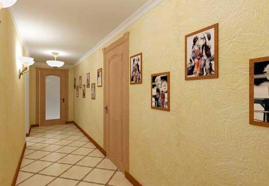 Необходимая ширина коридора в доме