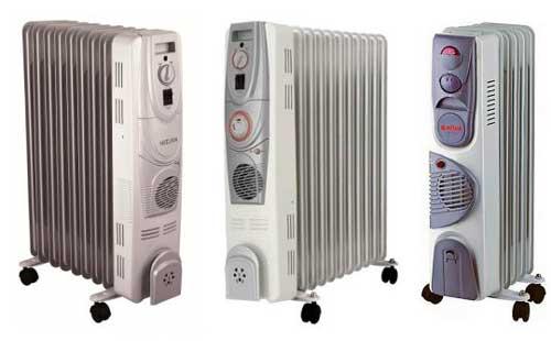 Маслянные радиаторы отопления
