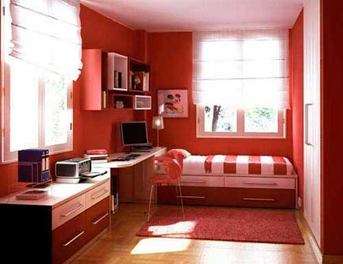 Освещенность комнаты на южной стороне дома