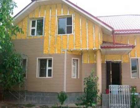 Защита дома от влаги сайдингом