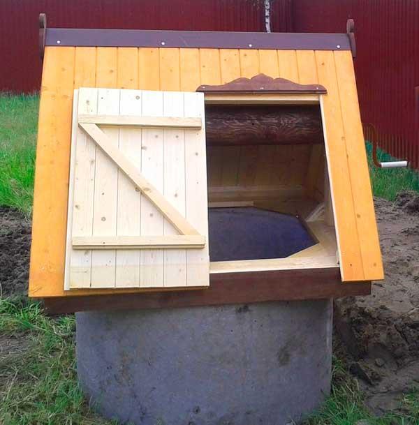 Открытая конструкция домика
