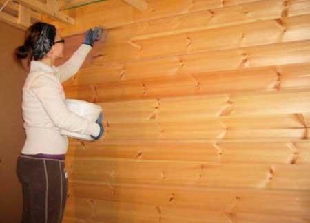 Подготовка стен каркасного дома