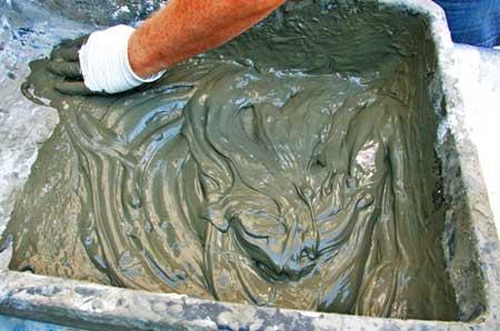 Приготовление бетонной смеси