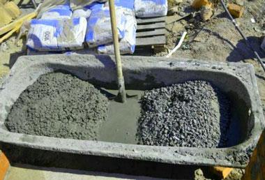 Пропорции приготовления бетона