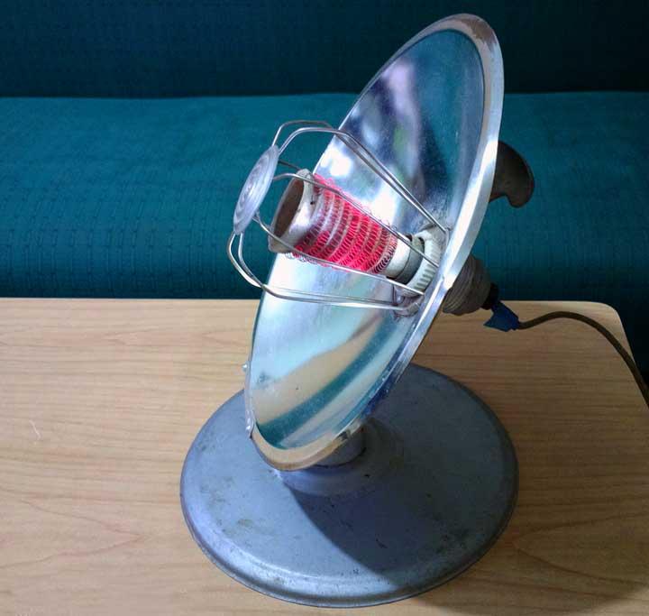 Электрический обогреватель рефлектор