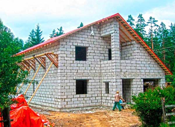 Строительство дома за миллион из газобетона