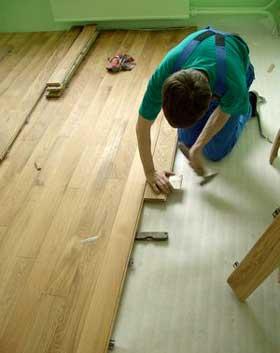 Укладываем деревянный пол в доме