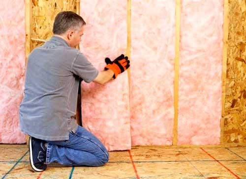 Шумоизоляция стены на этапе строительства дома