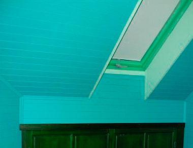 Покраска дома внутри