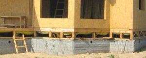 Монолитный фундамент для каркасного дома