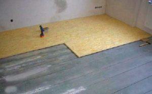 укладка деревянного покрытия