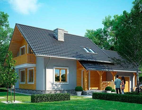 Каркасный дом пример проекта