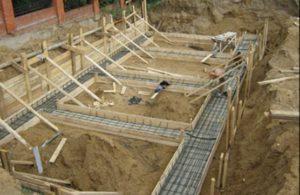 Заглубленный фундамент для дачного дома