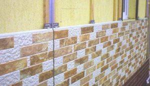 Монтаж фасадных панелей на стену