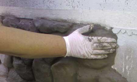 Как отделать цоколь дома камнем
