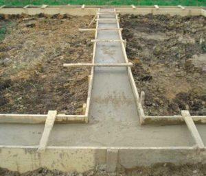 Малозаглубленный фундамент для дачного дома