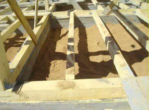 Подготовительные работы для постройки фундамента под каркасный дом