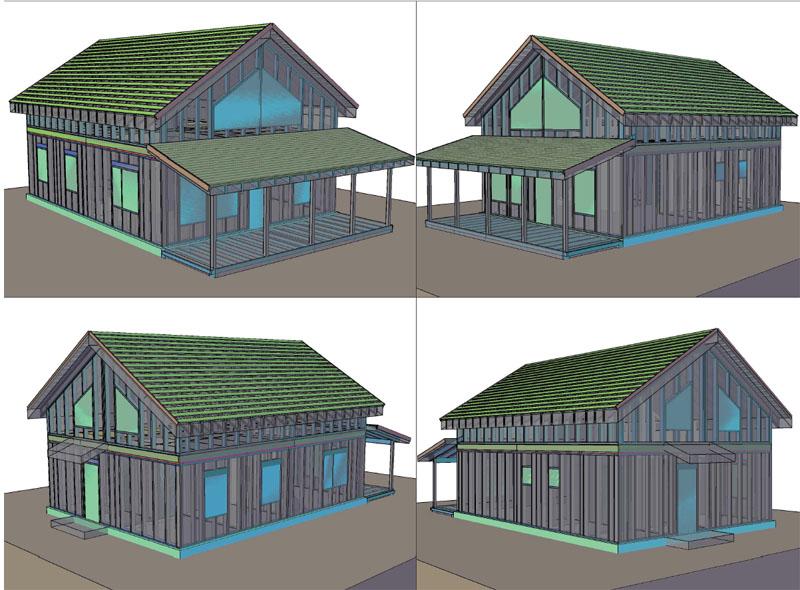 3d_модель_каркасного дома