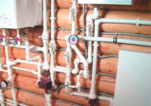 Водоснабжение каркасного дома из металлопластиковых труб