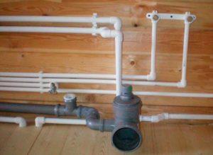 Водоснабжение и канализация каркасного дома своими руками