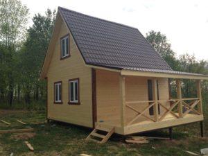 Особенности строительства каркасного домика