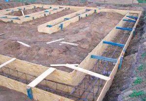Этапы работ при строительстве ленточного фундамента для каркасного дома