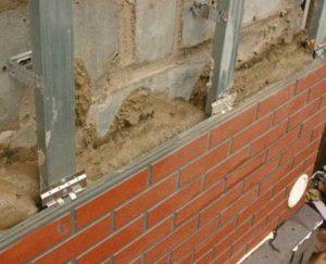 Монтаж и крепление фасадных панелей
