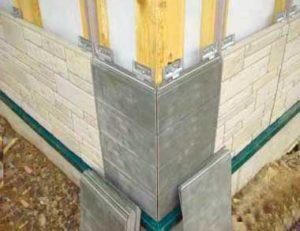 Монтаж фасадных фибропанелей